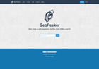 Screenshot of Geo Peeker - check a web page from around the world
